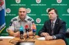 Spaudos konferencija dėl ukrainiečio nužudymo