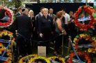 D. Grybauskaitė dalyvauja Sh. Pereso laidotuvėse