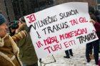 """Akcija """"Šimašiau, neišvaryk irkluotojų iš Vilniaus!"""""""