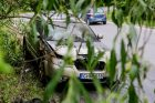 Raudondvario pl. atvira liepsna degė automobilis