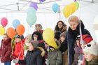 Prezidentė atidarė vaikų dienos centrą Zarasuose