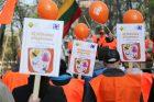 Profesinių sąjungų protesto akcija