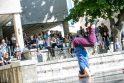 """Bėgte po miestą su """"Kauno galerijų savaitgalio"""" žemėlapiu"""