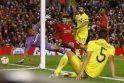 """""""Liverpool"""" futbolininkai 3:0 sutriuškino """"Villarrel"""" ekipą"""