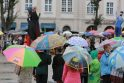 Mokslo ir žinių diena pažymėta lietumi
