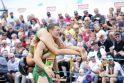 Lietuvis triumfavo pasaulio žmonų nešimo čempionate