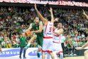 Lietuvos ir Gruzijos krepšinio rinktinių akistata