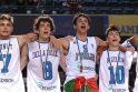 Lietuvių skriaudikai italai - Europos čempionai
