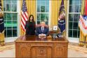 Kim Kardashian ir Donaldas Trumpas