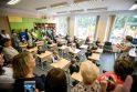Įvairovė: A.Puškino gimnazijoje mokosi 22 skirtingų tautybių moksleiviai.