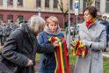 Kaune atidengta paminklinė plokštė sušaudytiems ministrams