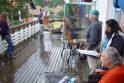 Neringoje įkvėpimo ieškos tapytojai iš aštuonių šalių