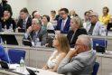 Trukdžiai: po L.Girskienės pasitraukimo iš Klaipėdos miesto tarybos naujo nario prisaikdinimo procesas stringa jau penktą mėnesį.
