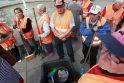Vilniaus kiemsargiai protestavo dėl neišmokėtų algų
