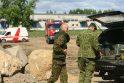 Palemone darbininkas iškasė karo laikų prieštankinę miną