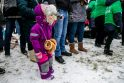 Užgavėnėse Botanikos sode - 100 blynų Lietuvos šimtmečio proga