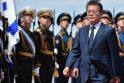 Pietų Korėjos prezidentas atvyko į Rusiją