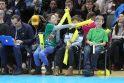 """Sausakimšoje arenoje """"Vytautas"""" palaužė """"Žalgirį-2"""", Ballai žaidė rezultatyviai"""