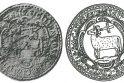 Barzdotas tauras 1643 m. koklių fragmentuose