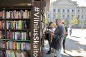 Skaitykla po atviru dangumi Lukiškių aikštėje