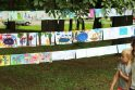 Vingio parką papuošė rekordinė piešinių paroda