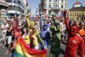 Prahos gėjų paradas priviliojo tūkstančius dalyvių
