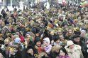 Kauniečiai pasipuošė tūkstančiais trispalvių (papildyta)