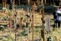 Karmėlavos nežiniukų kalnelyje laidojami ir gimines turėję asmenys