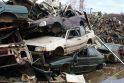 Kaune aptikta per 280 tonų nelegaliai supirkto metalo laužo