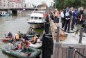 Klaipėdiečiai valė Danės upę