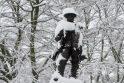 Žiema Didžiojoje Britanijoje: uždaromos mokyklos, vėluoja transportas