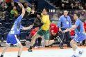 Pirmoji Lietuvos rankininkų pergalė Europos pirmenybių atrankos turnyre
