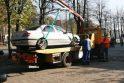 Ant šaligatvio paliktoms mašinoms gresia nukėlimas