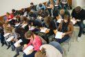 Konstitucijos egzamine Vilniuje aktyviausiai dalyvavo studentai