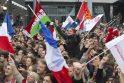 F.Hollande'as Prancūzijos prezidento rinkimuose nugalėjo N.Sarkozy