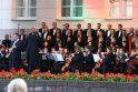 Vilniaus Daukanto aikštėje surengtas šventinis koncertas