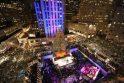 Niujorke įžiebta Kalėdų eglė