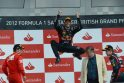 """""""Formulės 1"""" pirmenybių """"Grand Prix"""" vėl laimėjo australas M.Webberis"""