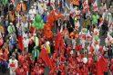Briuselyje dešimtys tūkstančių žmonių protestuoja prieš griežtą taupymą