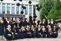Lietuvos sporto universitete studijas baigė 570 studentų