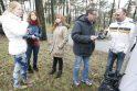 Klaipėdos Jūros parką švarino talkininkai
