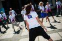 Į Londoną išlydėta olimpinio deglo nešėja