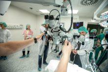 Klinikose pristatyta moderni operacinė