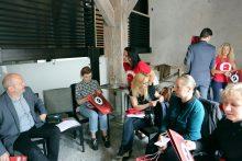 Klaipėdos pilies džiazo festivalio spaudos konferencija