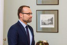 Prezidentė susitiko su kandidatu į kultūros ministrus
