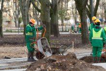 Teismas paliko baudą Vilniaus savivaldybei dėl Lukiškių aikštės darbų