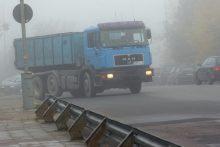 Kelininkai perspėja: eismo sąlygas sunkina plikledis
