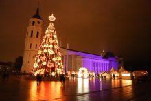 Sostinė skelbia šventinį Kalėdų laikotarpį