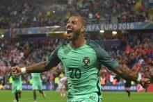 Euro 2016: portugalai tik po pratęsimo išplėšė pergalę prieš kroatus