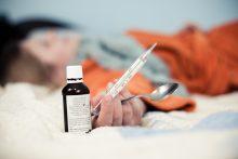 Vėl padidėjo sergamumas gripu ir peršalimo ligomis